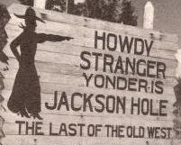 Jackson Yonder Sign