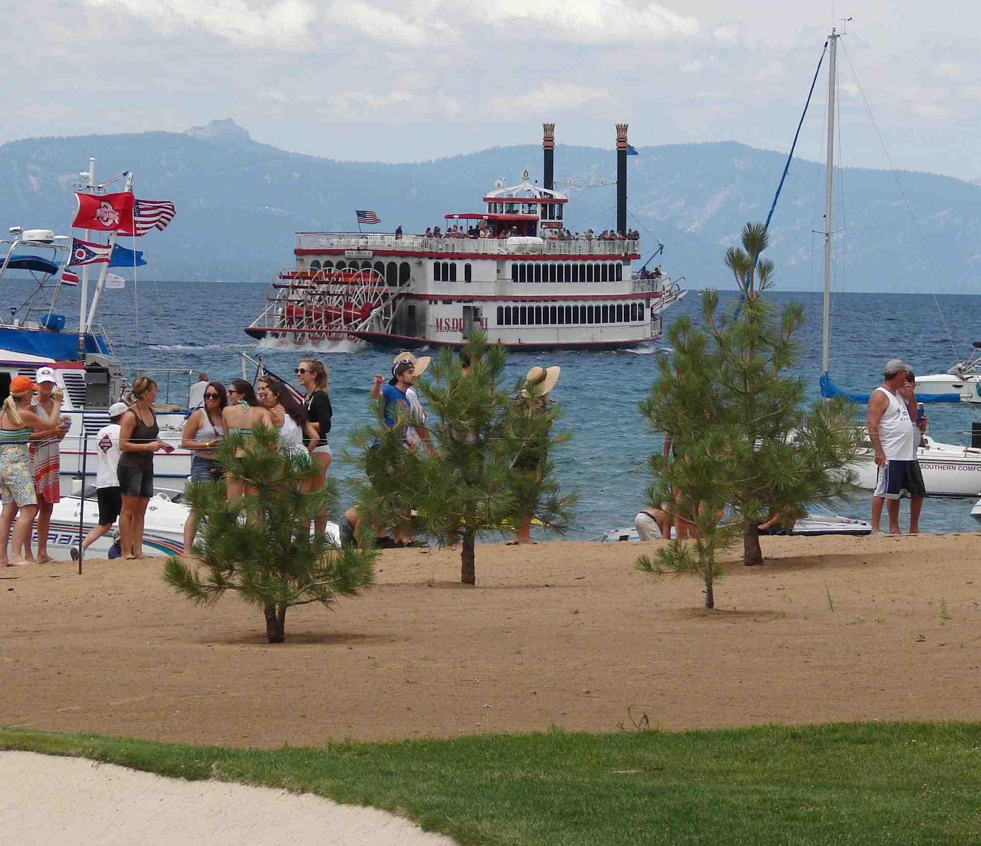 MS Dixie on Lake Tahoe