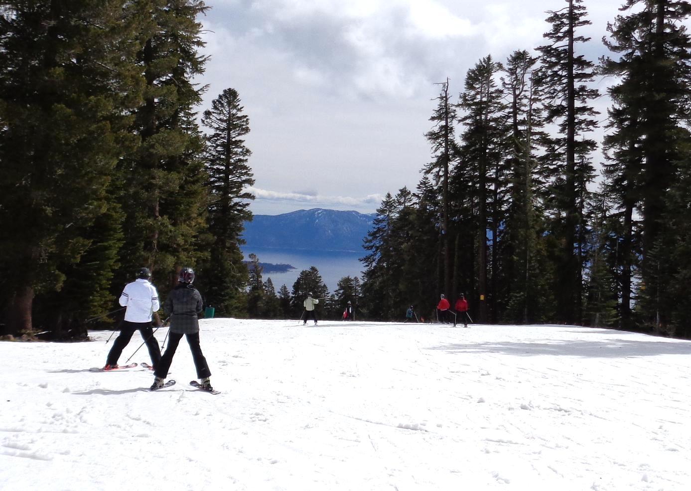 East Ridge and Lake Tahoe