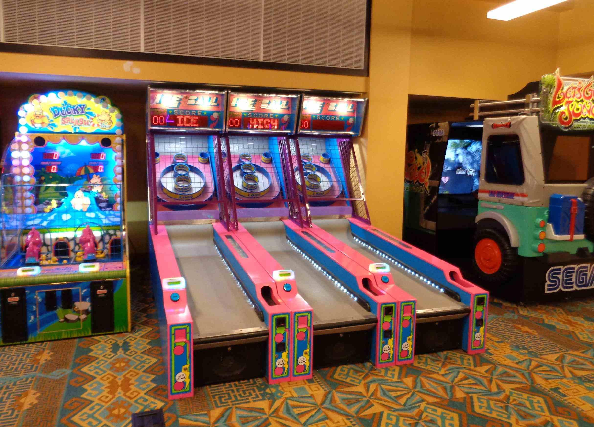 Aquatopia Skee Ball