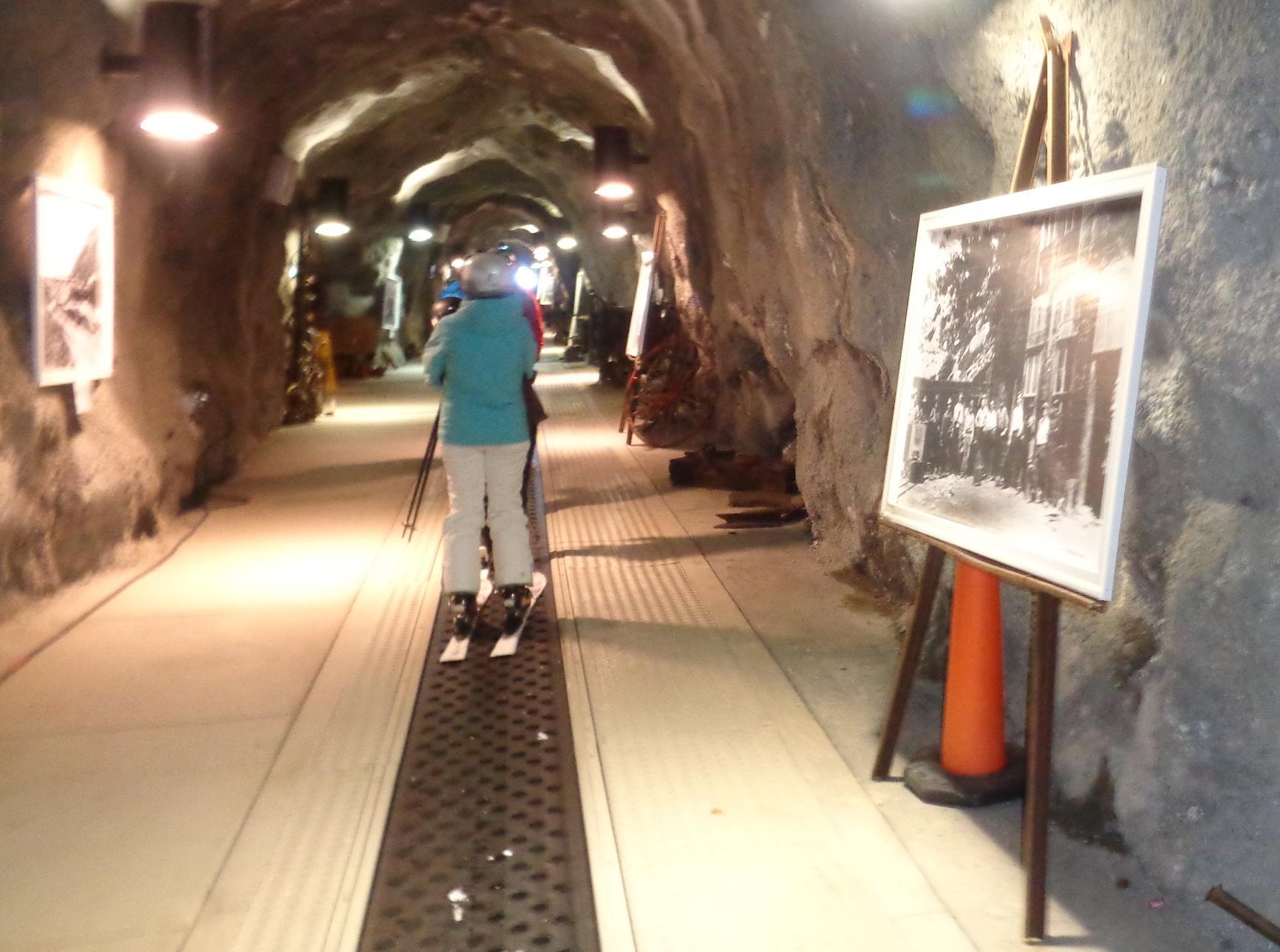 Tunnel at Snowbird