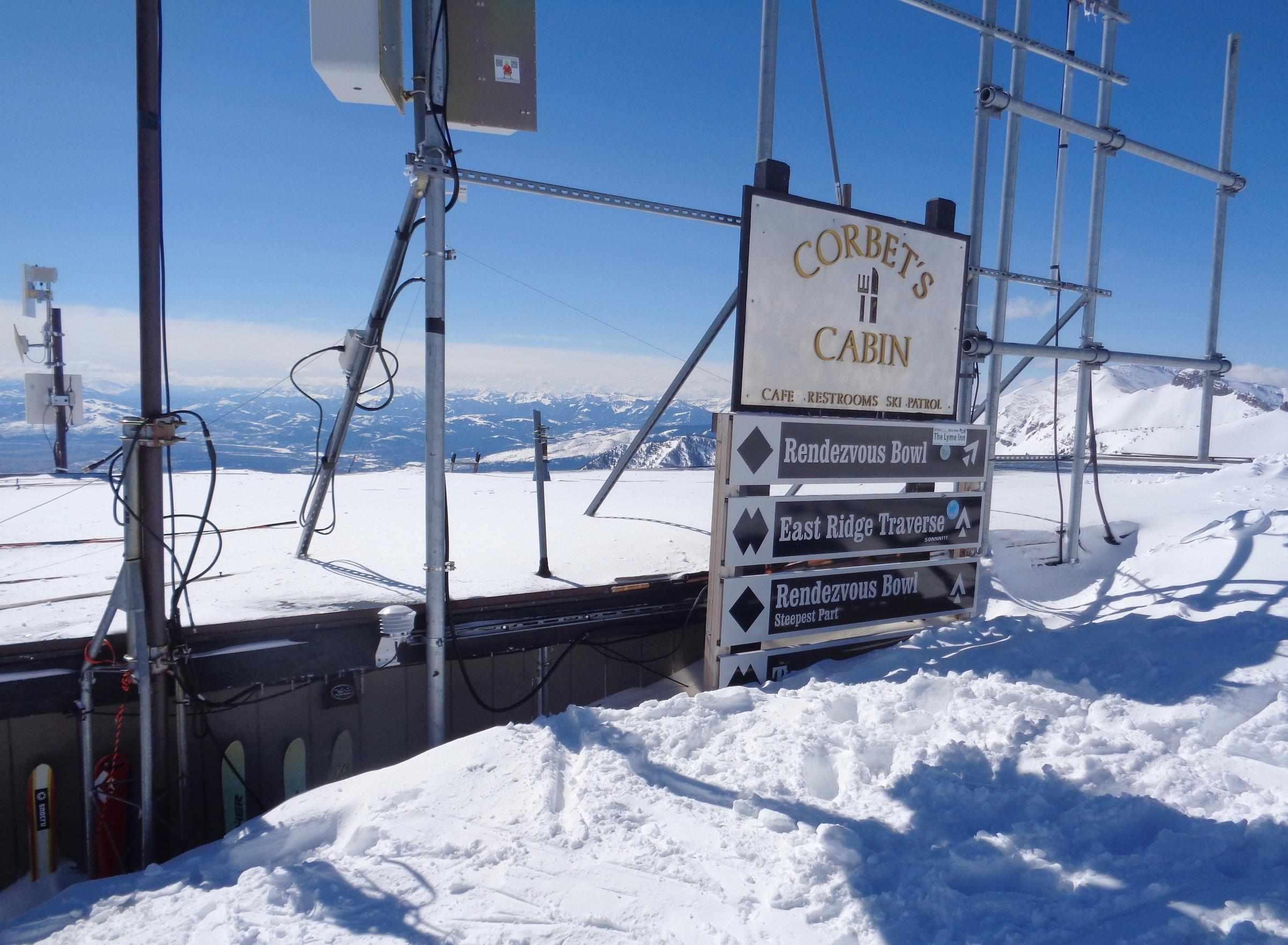 Top of Tram Cabin