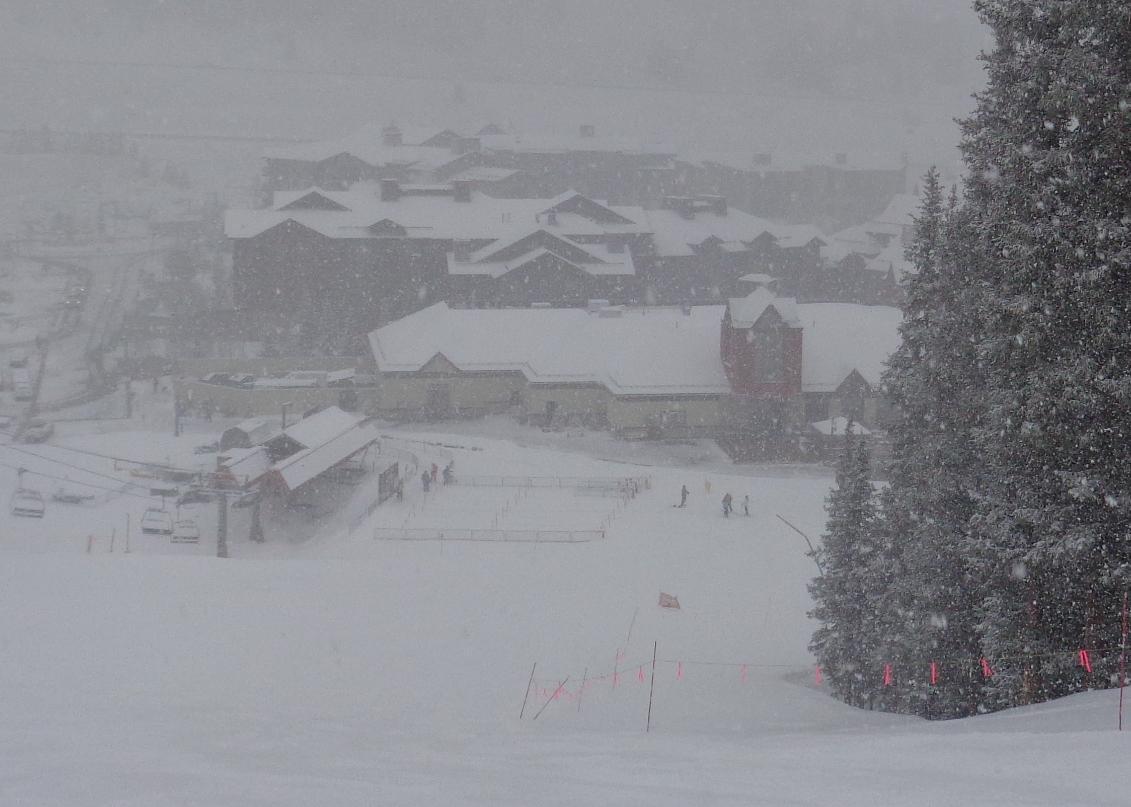 Copper snowstorm