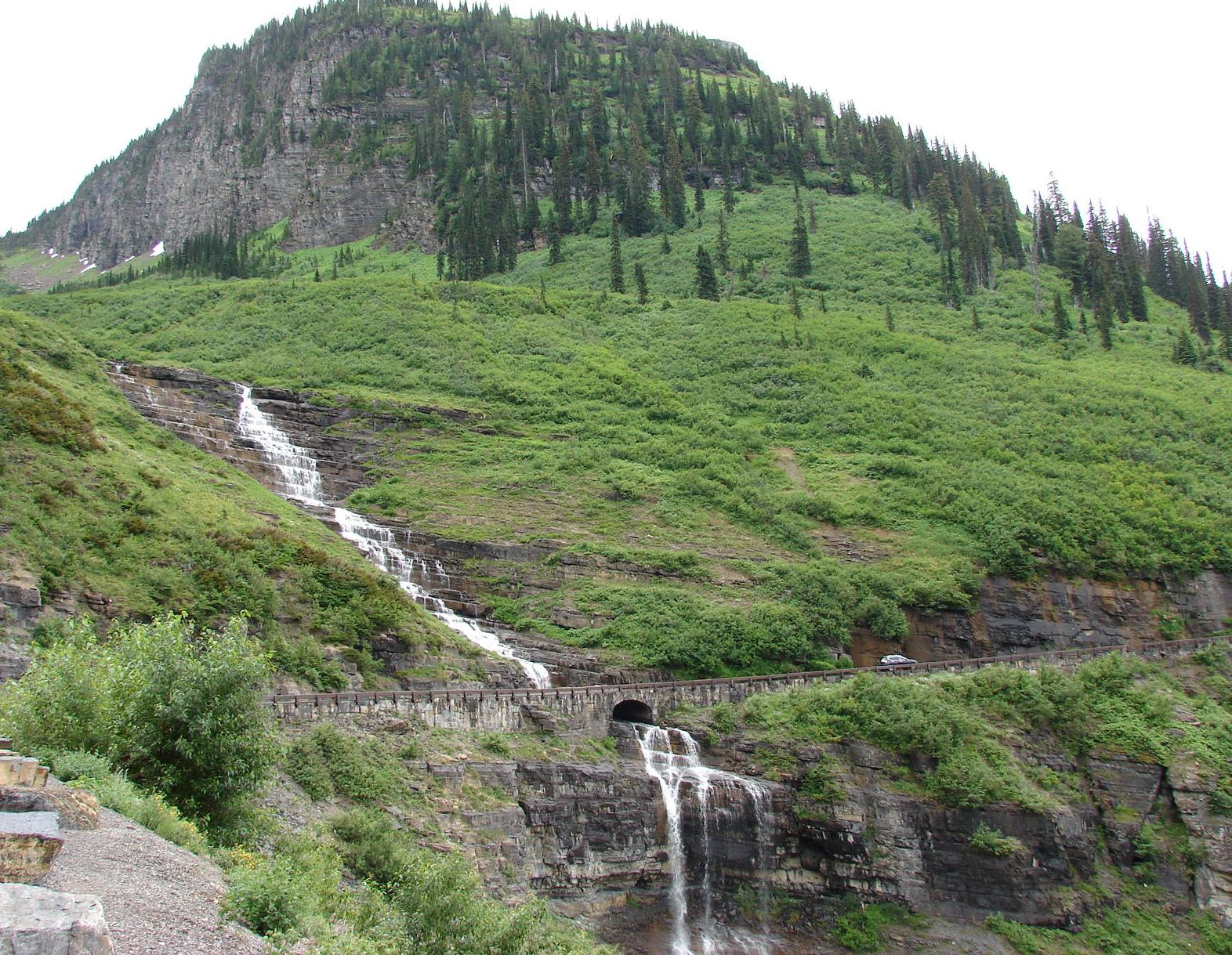 Glacier NP waterfall