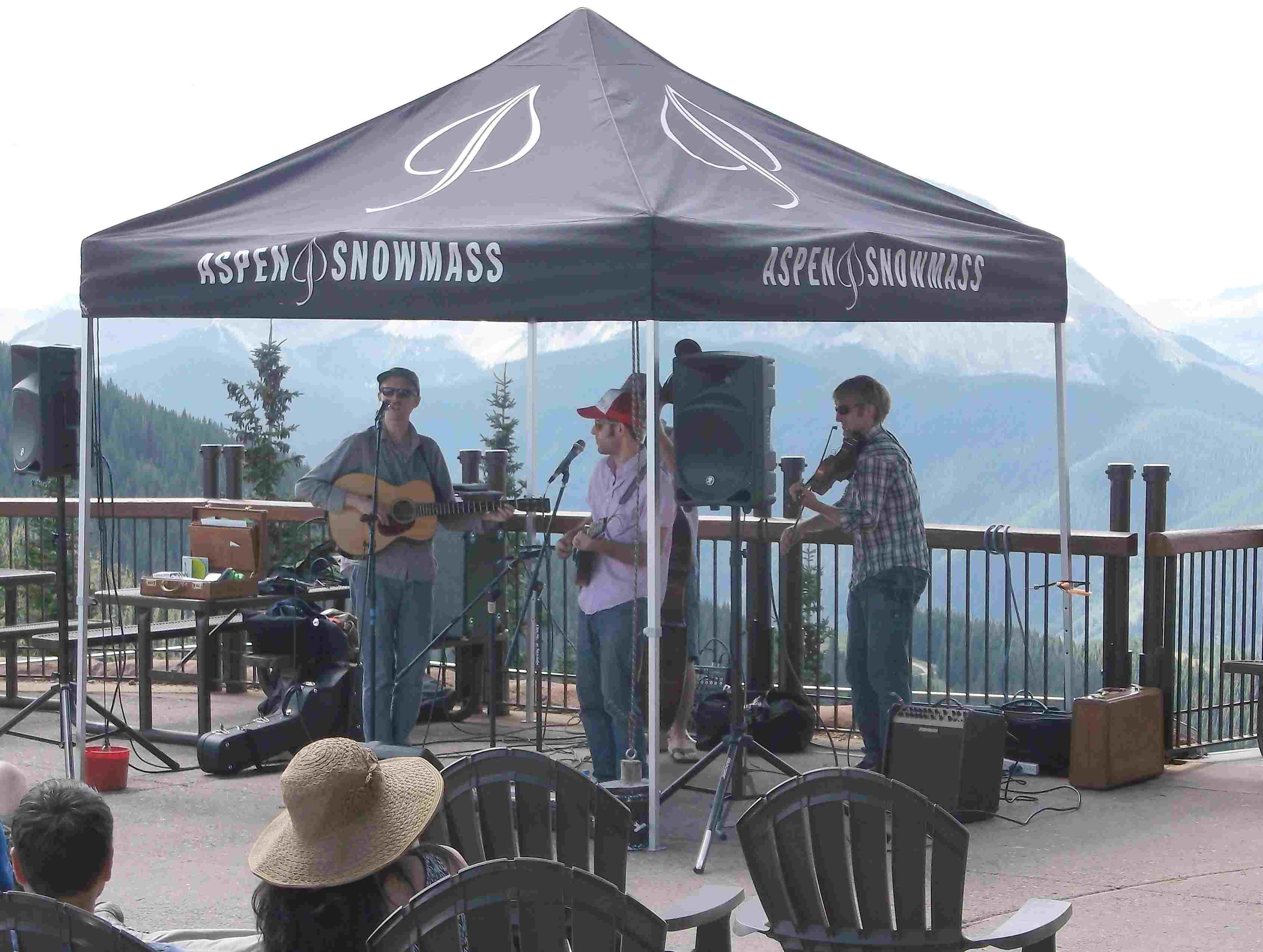 music on Aspen