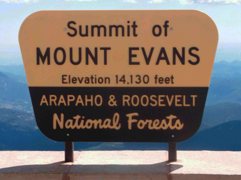 Mt Evans 14,130