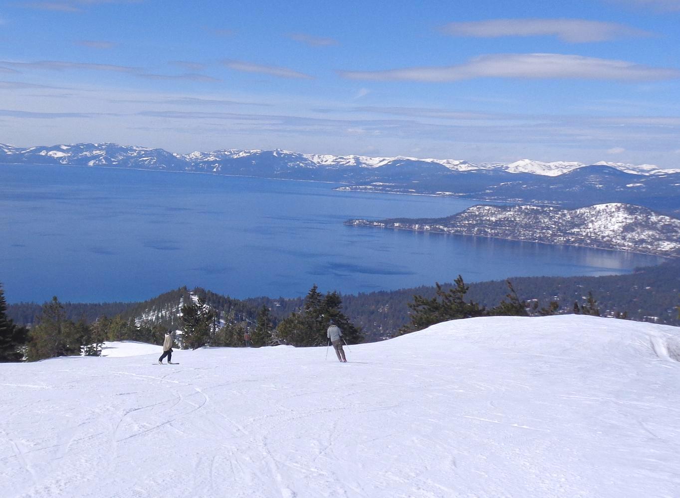 Tahoe from Diamond Peak