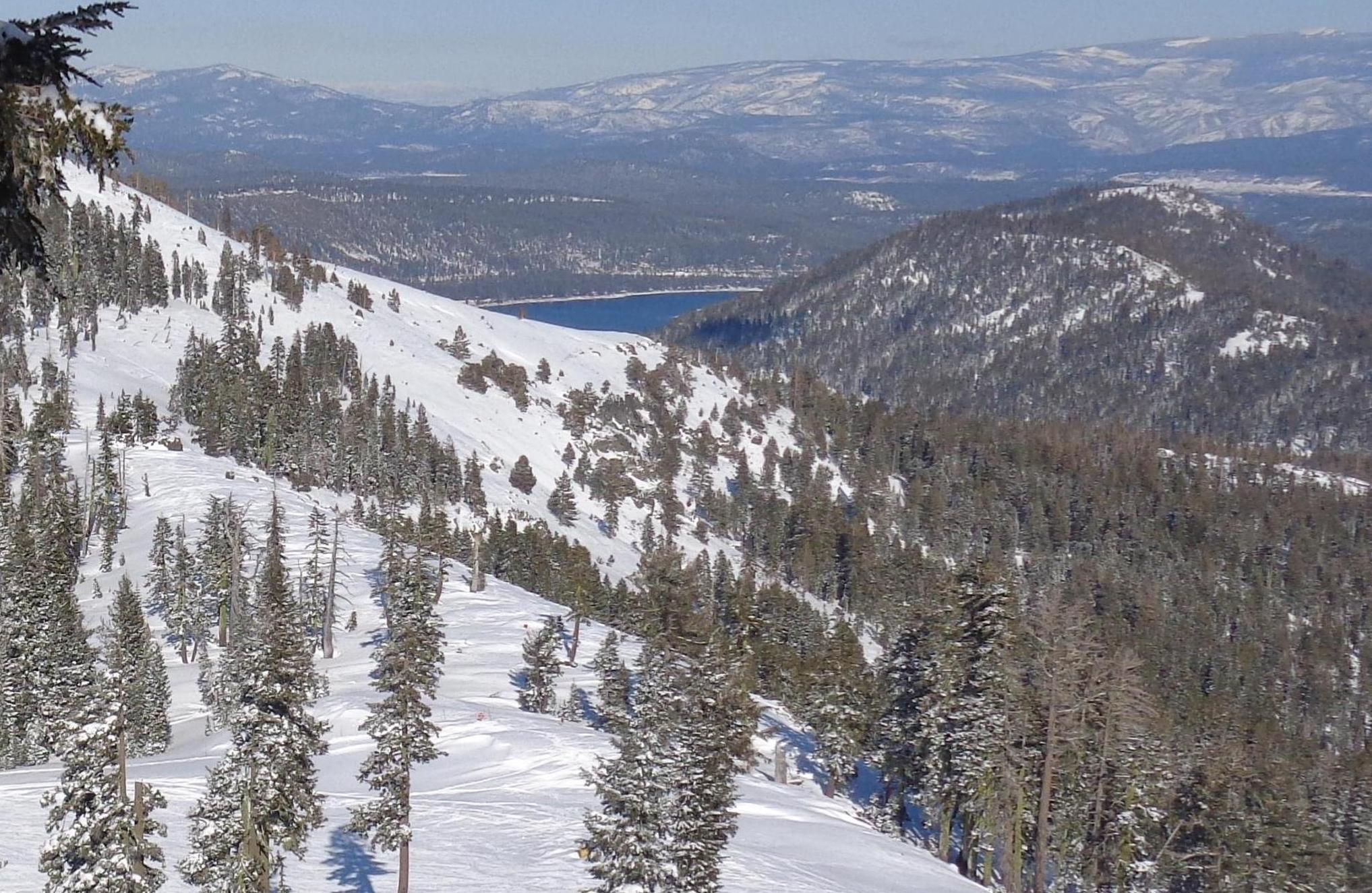 Donner Lake from Sugar Bowl