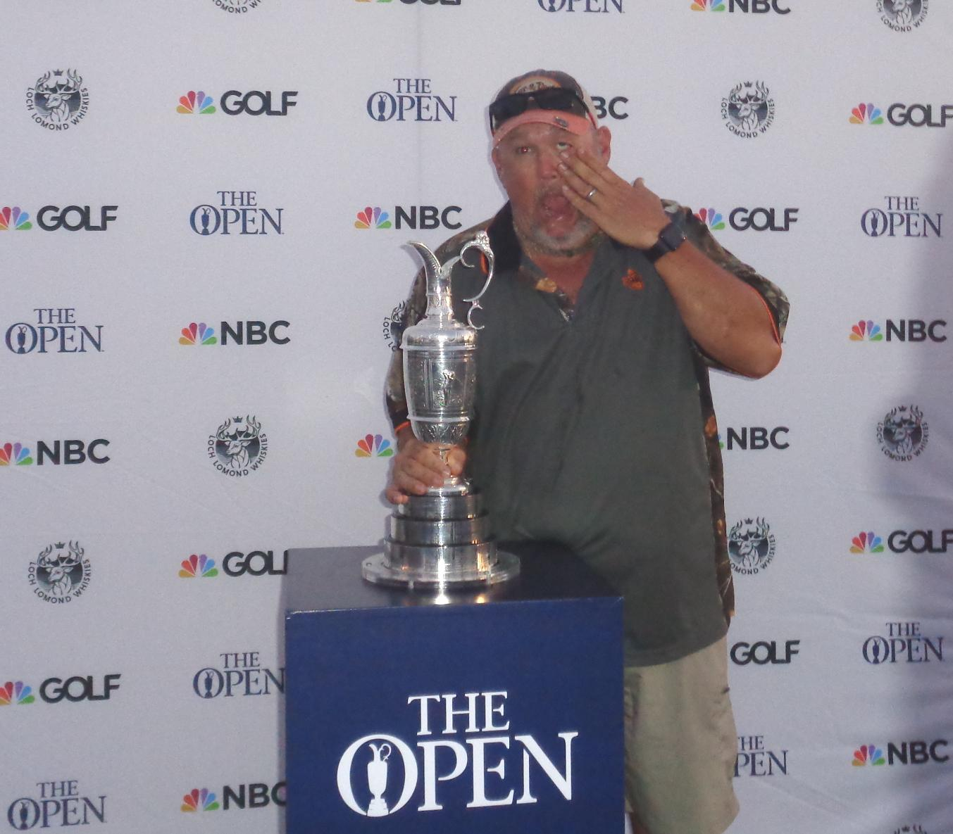 Larry and Claret Jug