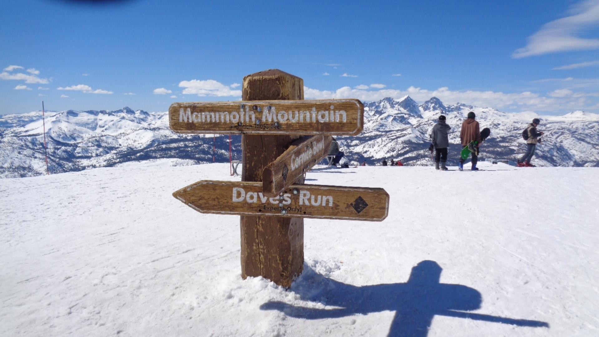 Mammoth, Got snow?