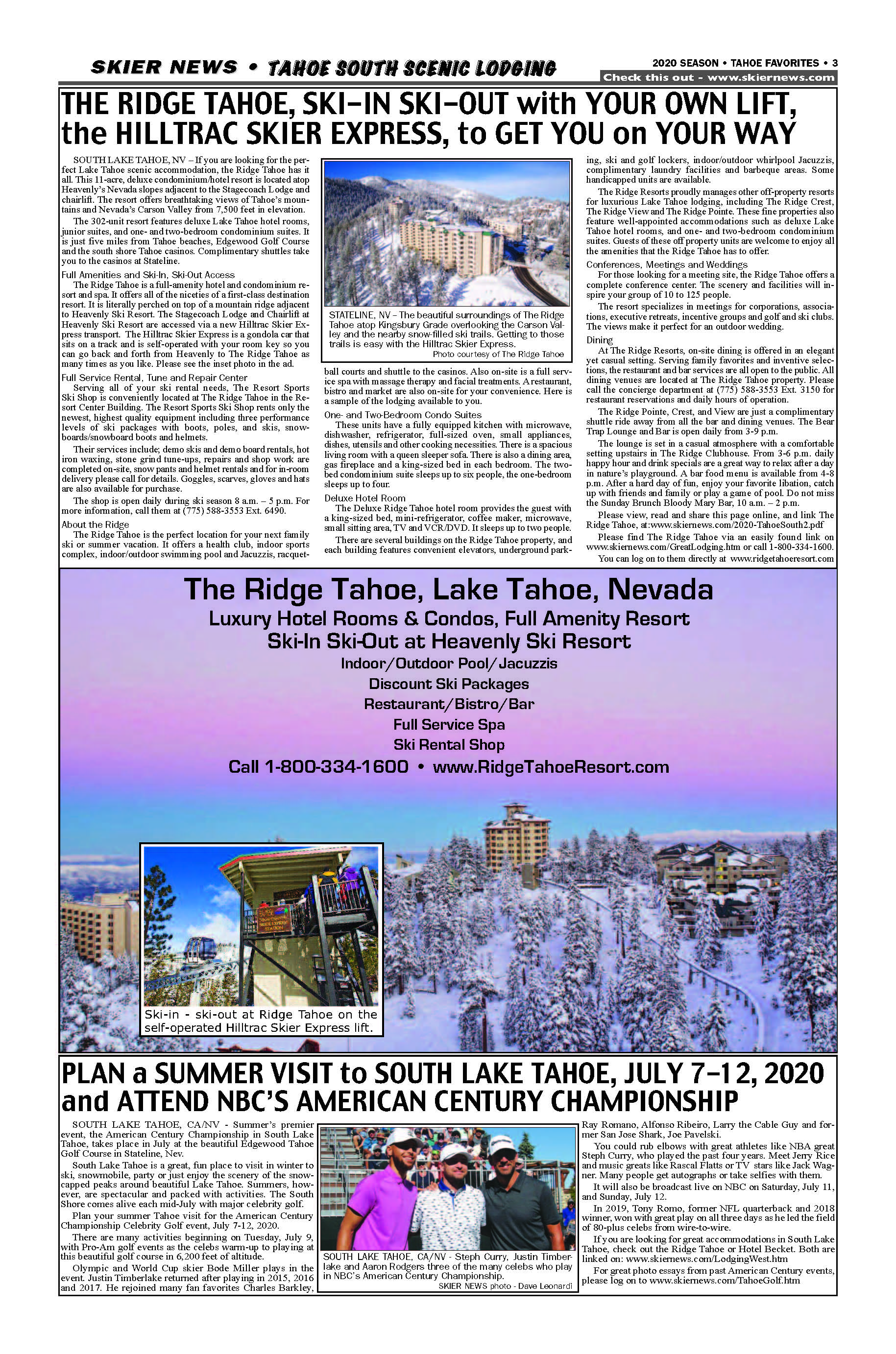 Edgewood Tahoe & Forest Suites