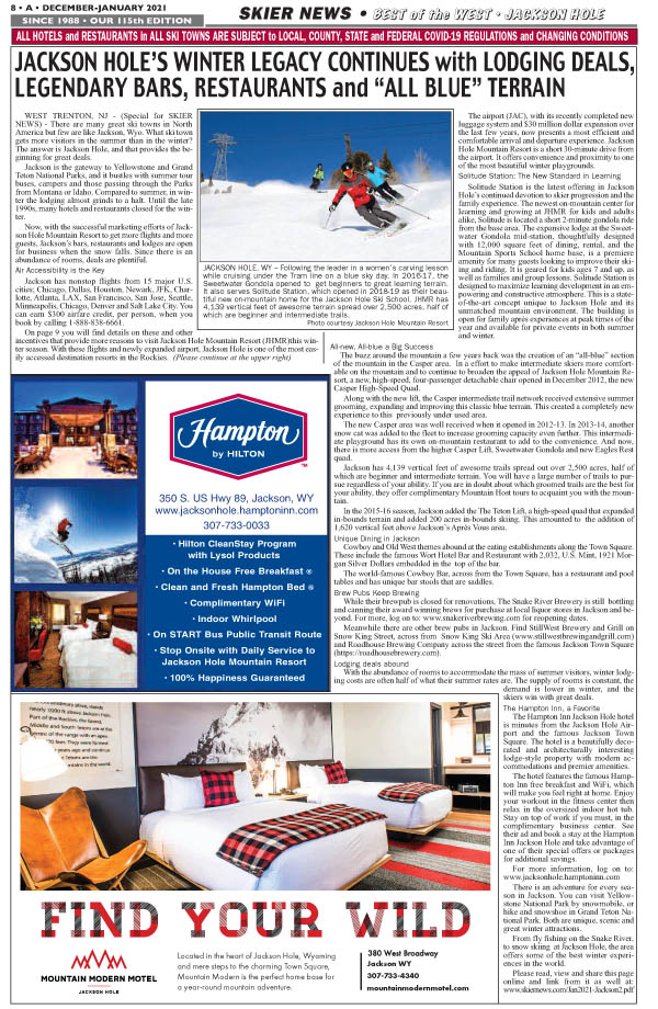 Best Places to Ski & Stay