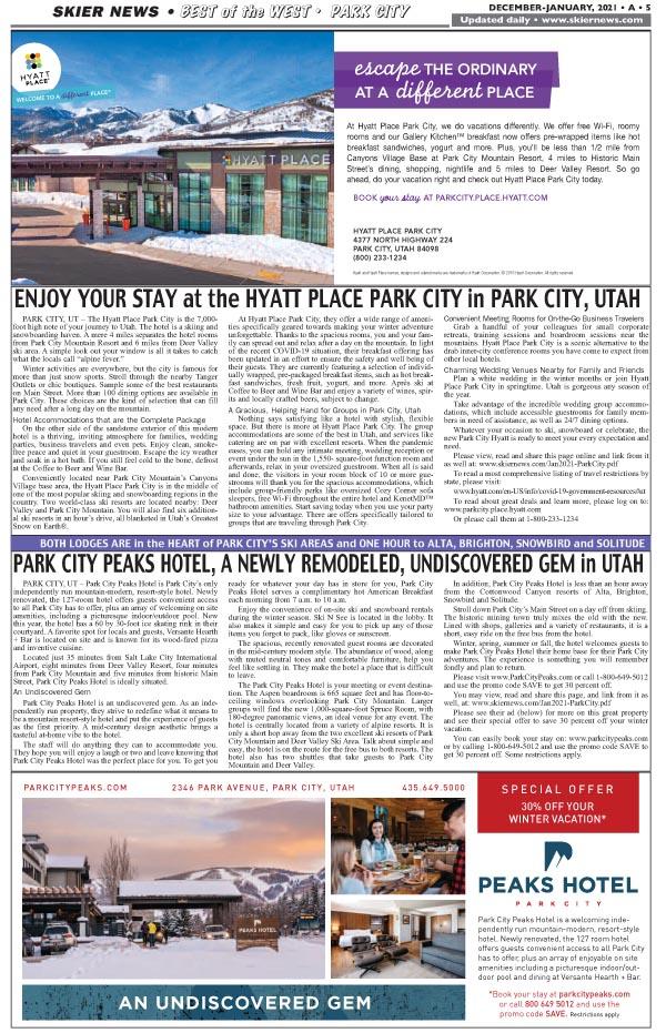Park City, UT-Lodging