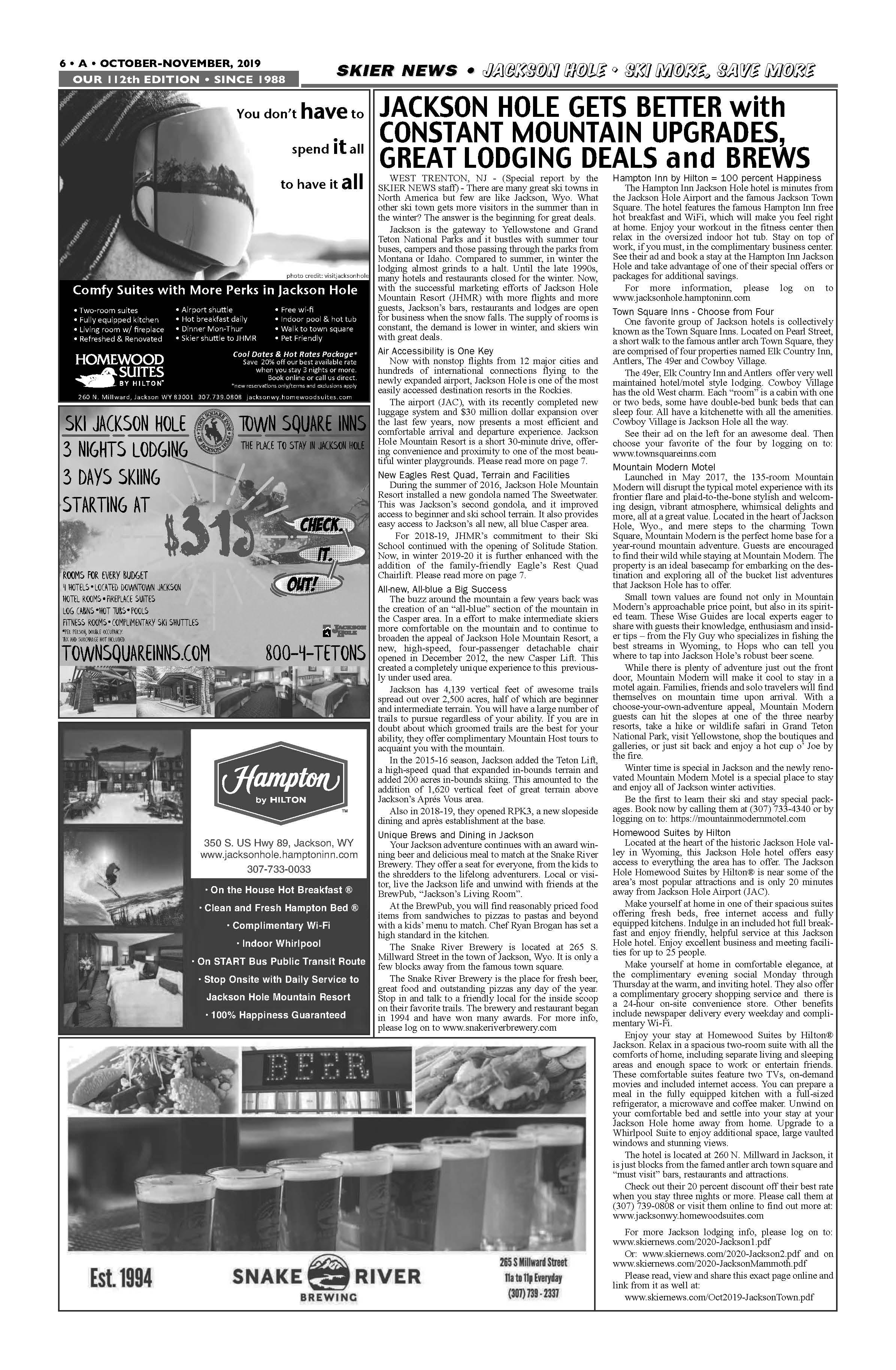 Jackson Town info