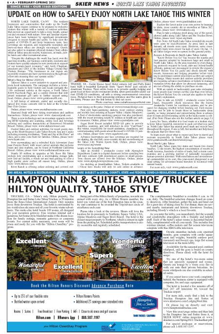 North Tahoe Info
